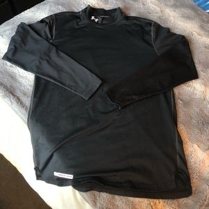 Under armour black cold weather gear.